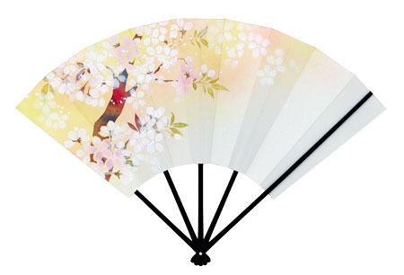 飾り扇 2021桜